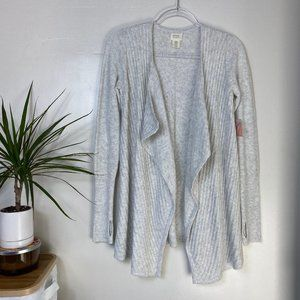 NWT Sigrid Olsen Super Soft & Cozy Draped Cardigan